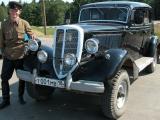 Выставка ретро автомобилей и бронетанковой техники 8 – 10 мая